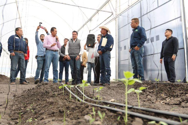 Entregan apoyos para el campo en la zona norte de Jalisco