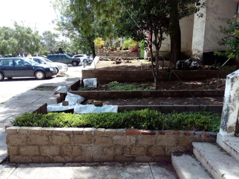 Vecino de Fovissste Miravalle pretende adueñarse del espacio Público
