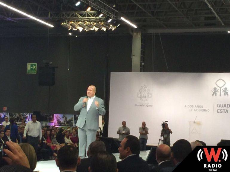 Enrique Alfaro presenta segundo informe de gobierno