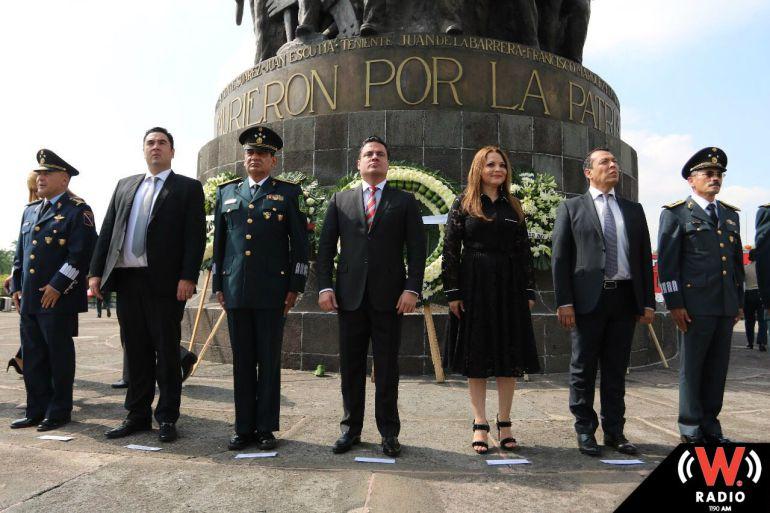 Conmemoran el 170 aniversario de la gesta heroica de Chapultepec
