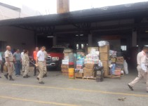 Jalisco manda más de 120 toneladas de víveres hacía Oaxaca