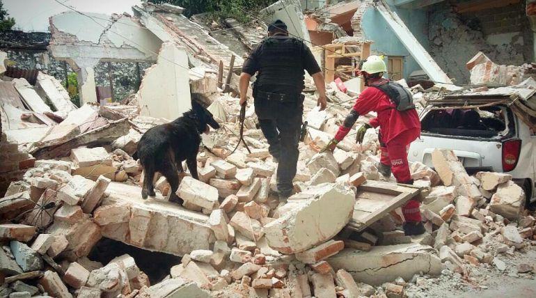 Protección Civil Zapopan cuenta su experiencia en Jojutla, Morelos