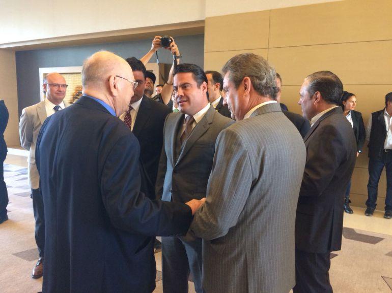Asiste Aristóteles Sandoval al aniversario 100 del diario El Informador