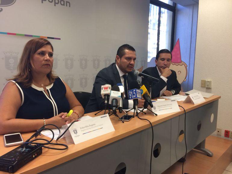 Regidores del PAN proponen compra de equipamiento a policías