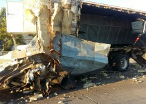 Accidente en Periférico Norte deja 4 lesionados