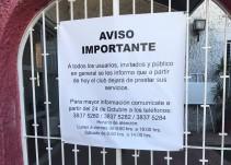 Al momento, sin quejas de trabajadores tras cierre de Chivas San Rafael