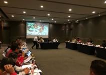 PC Nacional evalúa acción de grupos de bomberos en sismo de CDMX