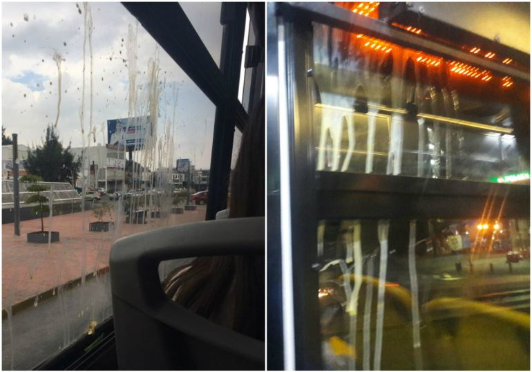 Exigen camioneros sanciones severas a quien vandalice unidades