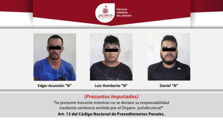 Desmantelan banda de presuntos sicarios en Jalisco