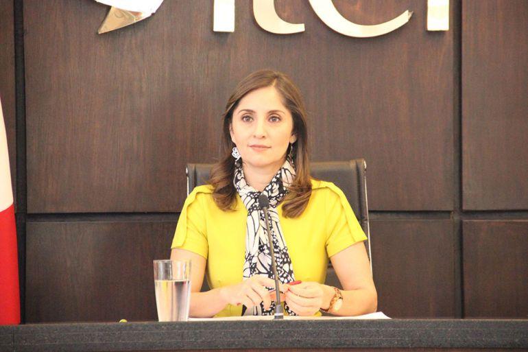 Asegura presidenta del ITEI que no lleva ventaja para ser Auditora del Estado