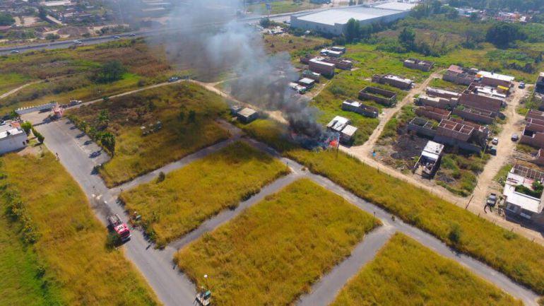 Se registra explosión en la colonia Paseos de Tonalá