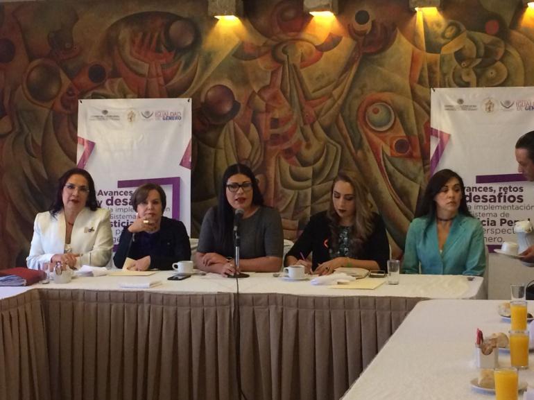 Analizan los retos del Nuevo Sistema de Justicia en materia de perspectiva de género