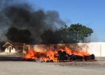 PGR Jalisco destruye seis mil de armas y cinco toneladas de droga