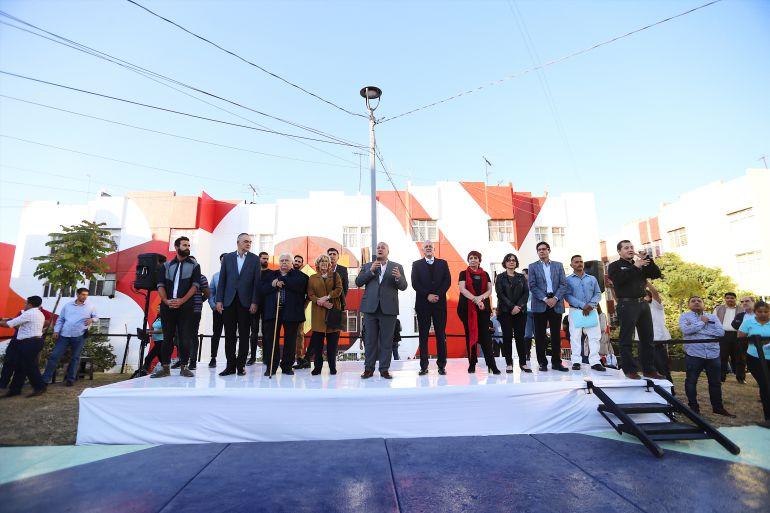 Boa Mistura cambia panorama a habitantes de Guadalajara al regalar mural monumental