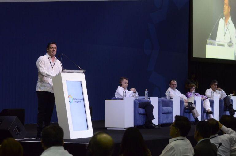 Inauguran cumbre de la ONU en Puerto Vallarta