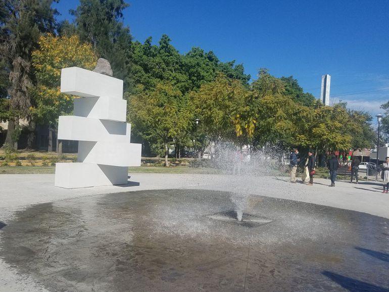 Inauguran conjunto escultórico en parque San Jacinto