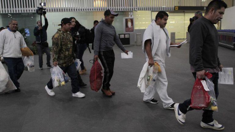 Comienzan a llegar deportados a ZMG