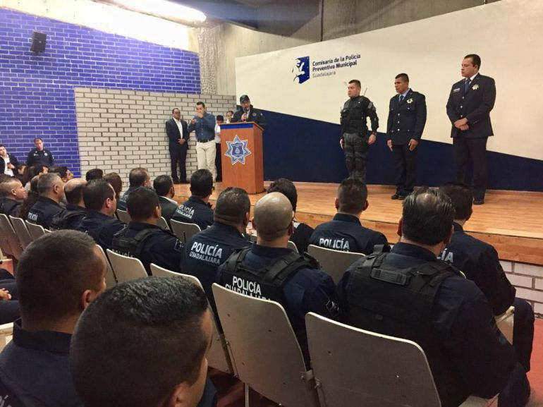 Juan Bosco Pacheco nuevo comisario de la policía de Guadalajara