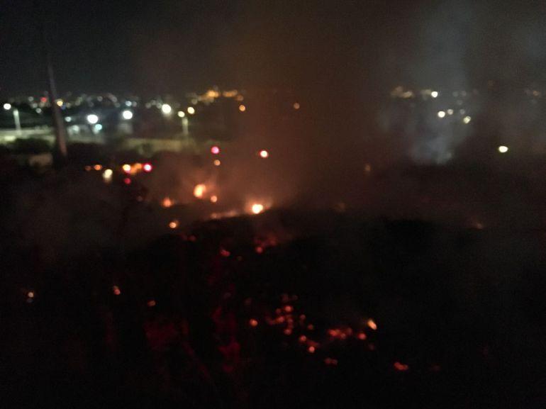 Se registró incendio en una maderería en el municipio de Guadalajara