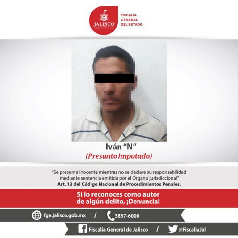 Detienen al presunto responsable de doble homicidio en GDL