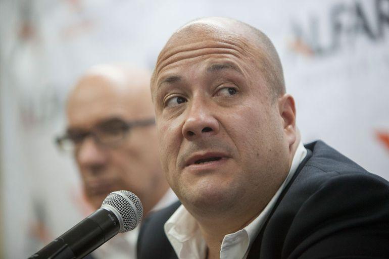 Alfaro deja su denuncia en redes sociales pero no ante la FEPADE