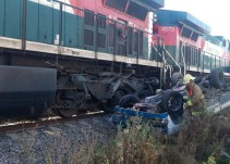 Se registra el cuarto accidente de ferrocarril en menos de 24 horas