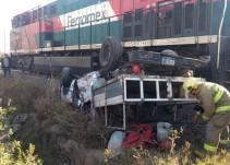 Solicitan apoyo de SCT, tras múltiples accidentes vehiculares con el ferrocarril
