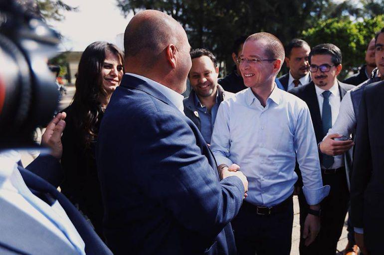 Anaya apoyará a todos los candidatos del 'Frente por México' en Jalisco