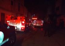 Incendio en taller de motocicletas deja 5 personas lesionadas