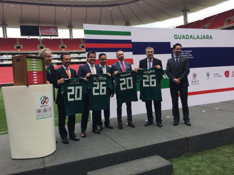 México buscará ser la sede para el Mundial de Fútbol 2026
