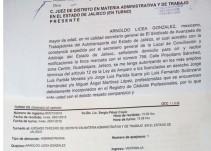 Transportistas de AVANZADA presentan amparos contra el gobierno de Jalisco
