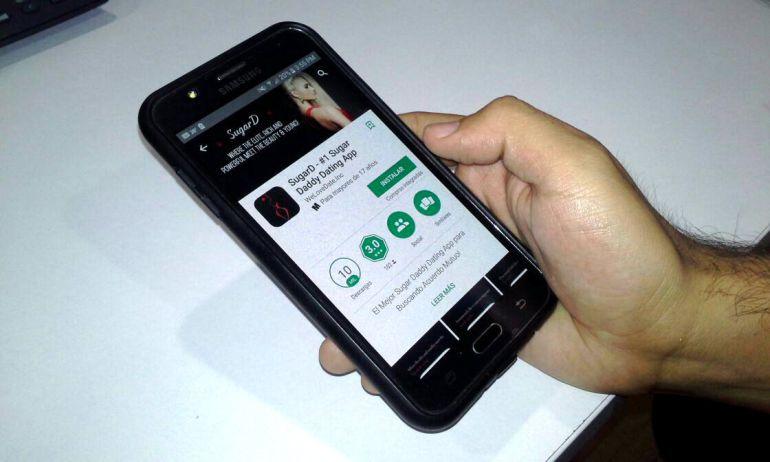 """Crece la búsqueda de """"Sugar Daddy"""" entre jóvenes a través de App"""