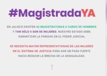 Entrevista sobre la campaña #MagistradaYa