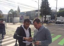Garantizan por cinco años las obras de repavimentación en Avenida La Paz