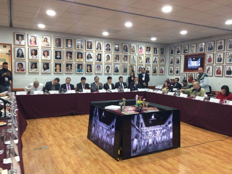 Realizan segundo día de Glosa en el Congreso