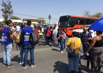 Vecinos de Tlajomulco se manifiestan por escuela incompleta