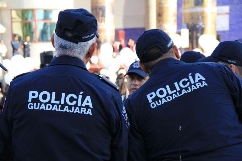 Detienen a un trabajador de la policía de Guadalajara