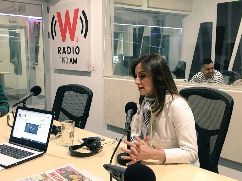 Entrevista Cynthia Cantero presidenta del ITEI