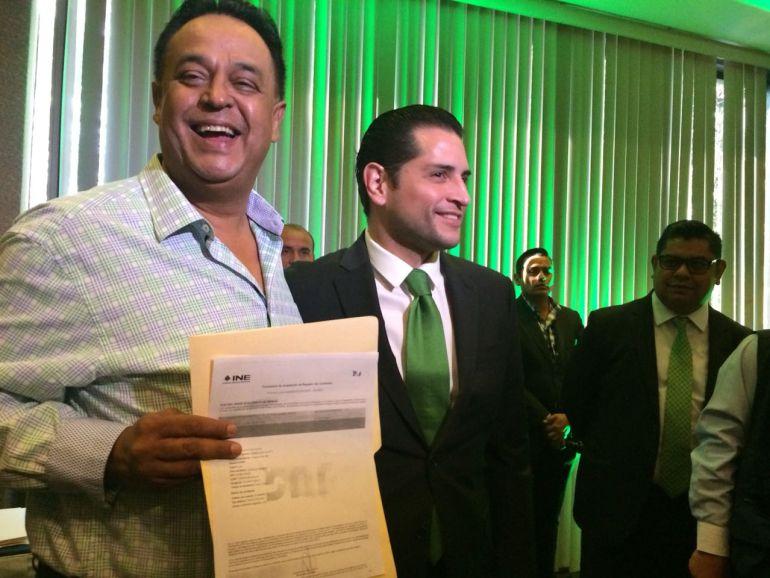 Salvador Cosío es el candidato oficial del PVEM a la gubernatura de Jalisco