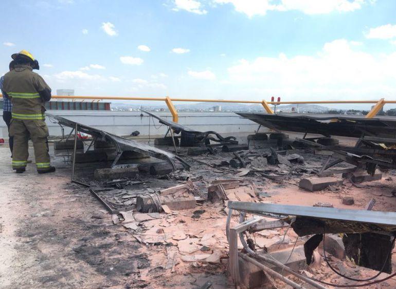 Se incendian instalaciones en Ciudad Judicial