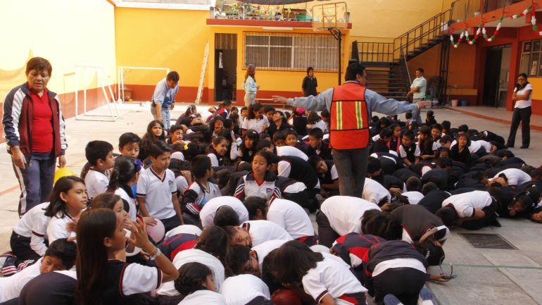SEJ colocará alarmas sísmicas en las escuelas del estado