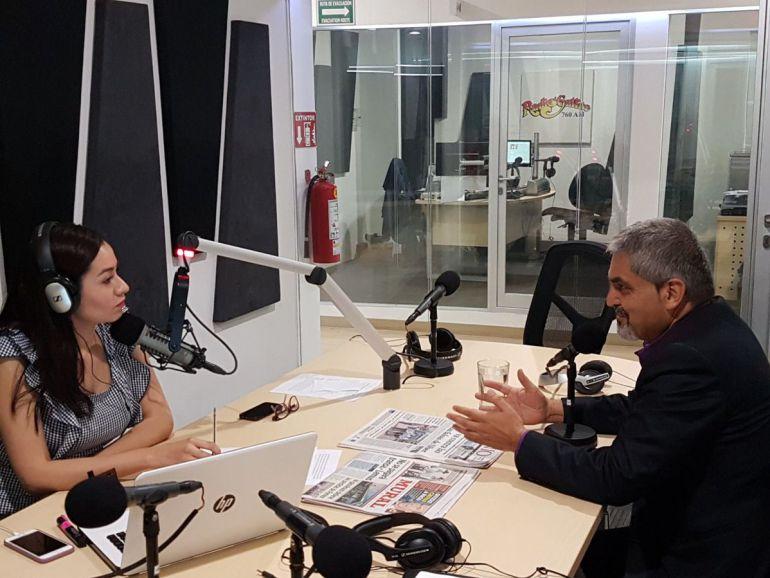 Entrevista con srio. de educación en Jalisco Alfonso Gómez Godínez