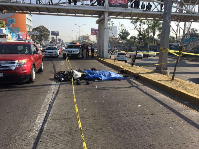 Fallecen dos personas en accidentes