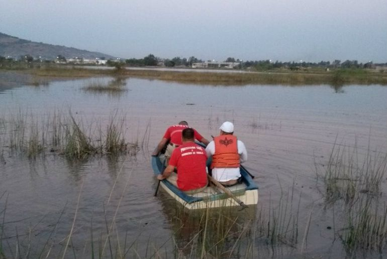Siguen sin localizar a joven desaparecido en una presa en Tonalá
