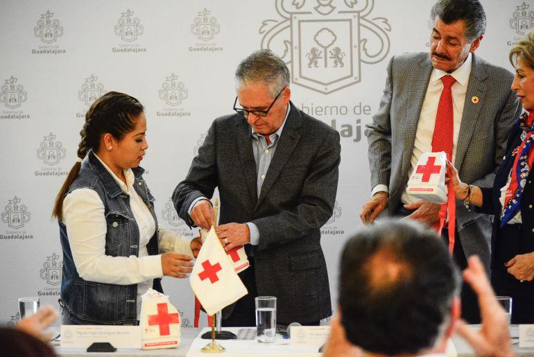 Cruz Roja pide a funcionarios tapatíos donar 1% de una quincena