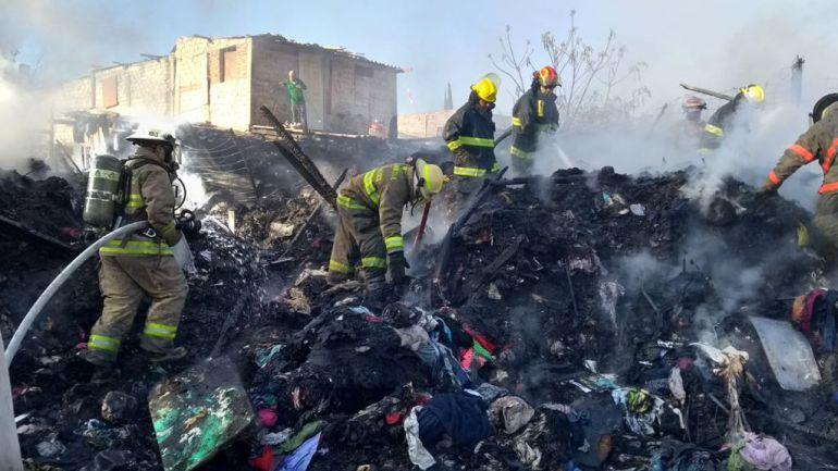 Incendio en Tonalá deja dos heridos