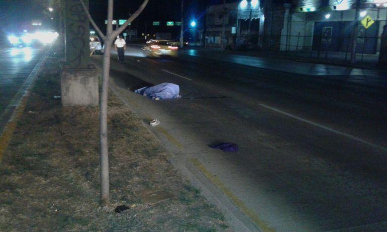 Atropellan a un hombre en la carretera a Morelia