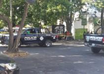 Asesinan a elemento de seguridad privada al intenta frustrar asalto bancario