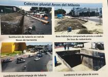 Colector Arcos del Milenio para mayo