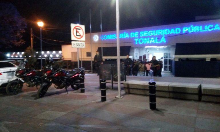 Policías de Tonalá declaran tras la desaparición de estudiantes